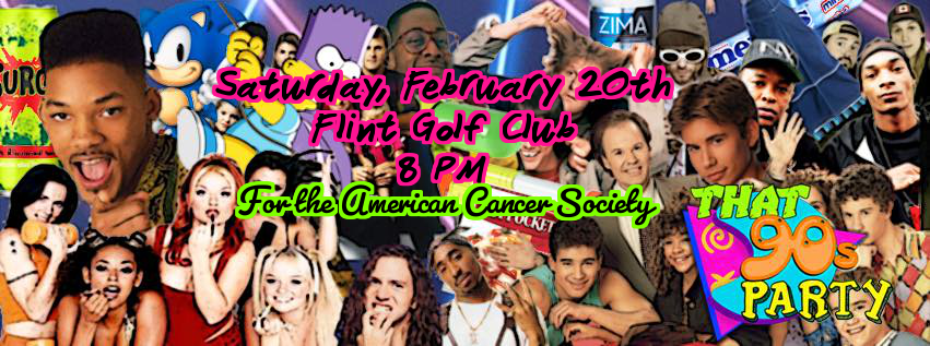 Are You Ready for 'That '90s Party' for the American Cancer Society?