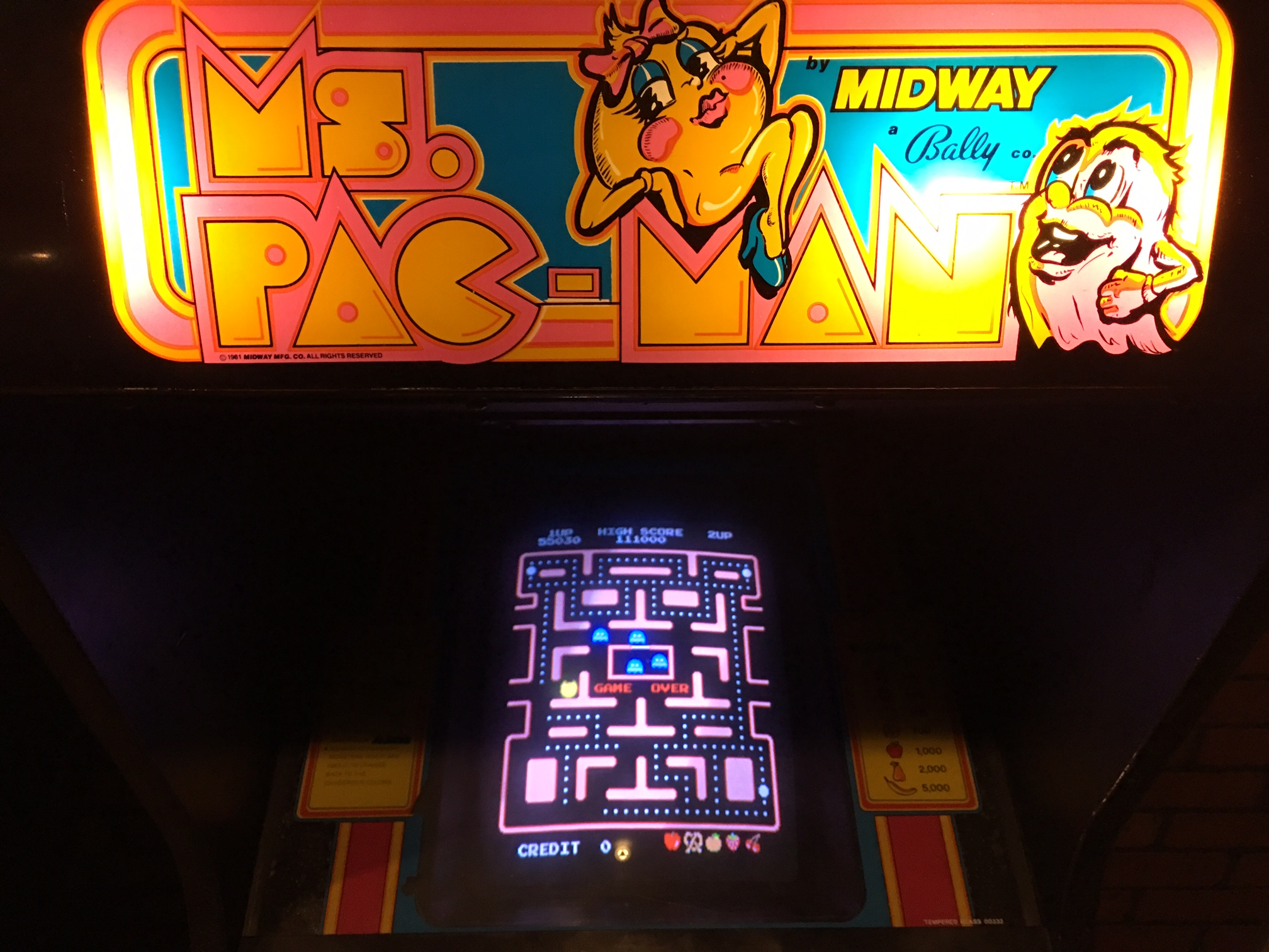 Just Bob's Ms. Pac-Man Challenge: 2/19-2/20/16