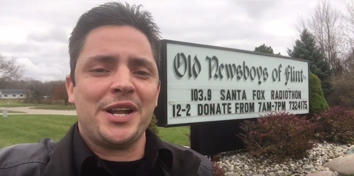 Take a Tour of The Old Newsboys of Flint Facility- 2016 Santa Fox Radiothon [VIDEO]