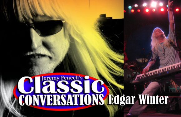 Edgar Winter Joins Jeremy for an Awesome Edgar 'Winterview' [AUDIO]