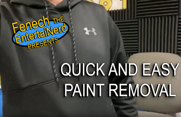 How To Get Paint Off Of A Black Shirt | Jeremy Fenech's Bad Advice [VIDEO]