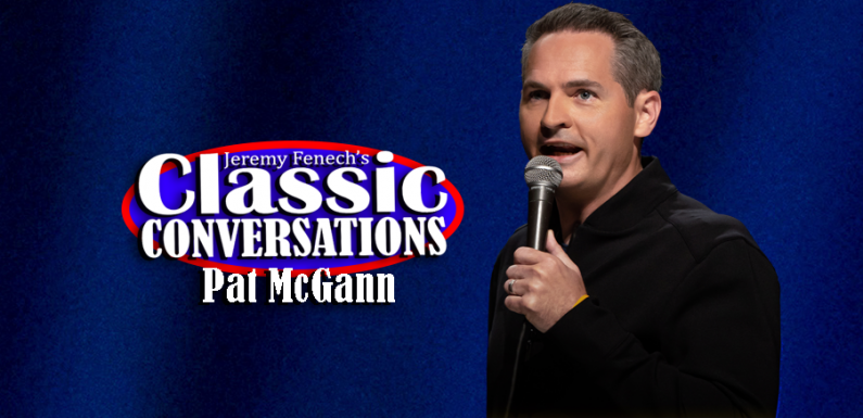 "Jeremy Talks to Comedian Pat McGann About His New Comedy Special ""When's Mom Gonna Be Home?"" [VIDEO]"