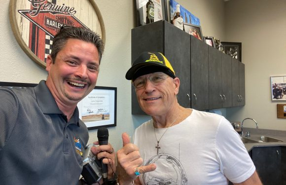 On-Air with Mark Farner at Bikes on the Bricks 2021 [VIDEO]